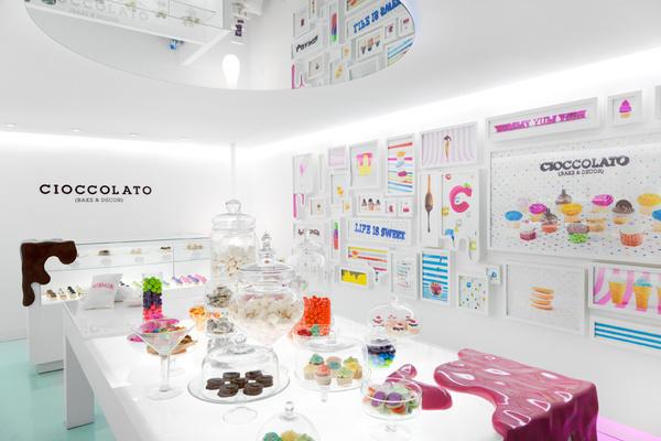 CIOCCOLATO BRANDING BY SAVVY STUDIO 4 #chocolate #candy #store #identity