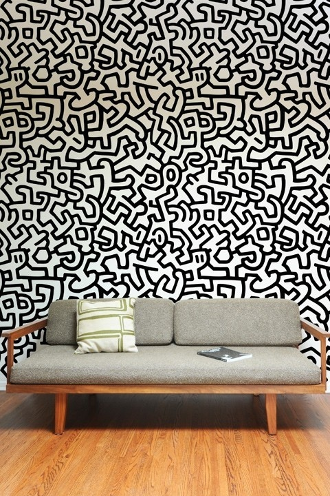 Keith Haring ~ Pattern Wall Tiles #wallpaper #pattern #keith haring