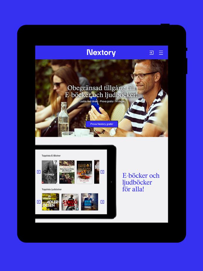 Nextory by Essen International #website #ios #ipad