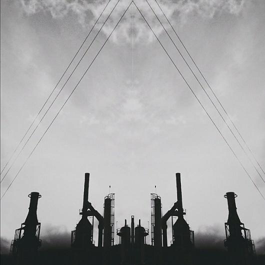 B3PO | Portal #b3po #blackwhite #instagram #photography #industrial #landscapes
