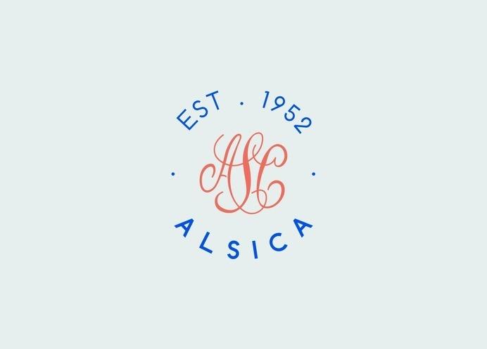 ALSICA - Design by AER CREATIVE STUDIO - aercreativestudio.tumblr.com/ #logotype #moodboard #design #graphic #brand #vintage #typography