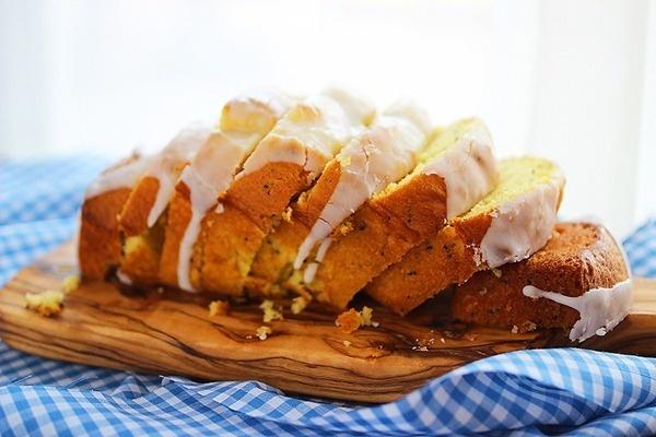 Lemon Poppyseed Bread #food