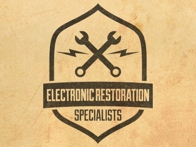 Dribbble - Electronic Restoration Specialists by Henry Smith #type