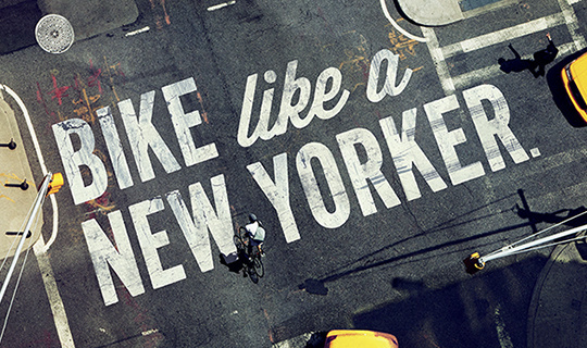 BIKE_NYC_HERO_MOTHER #layout #poster #typography