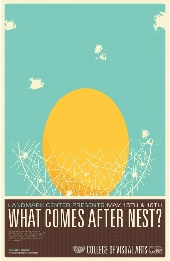 What Comes After Nest on the Behance Network #design #minimal #poster