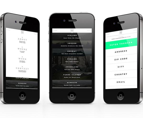 Noma Authentic on Behance #design #web #mobile