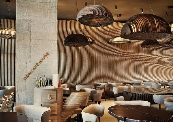 Artistic Cafe – surrealistic interior in Don Cafxc3xa9 House #interior #artistic #cafe #caf
