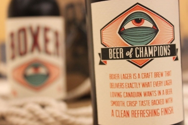 love this, the little details are perfect - #beer #design #boxer #package