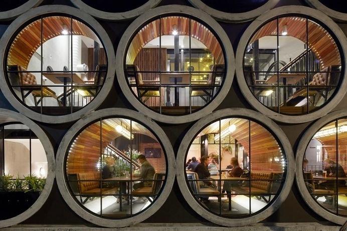 """Prahran Hotel by TechnÄ"""" Architecture + Interior Design #inn #architecture #hotels"""