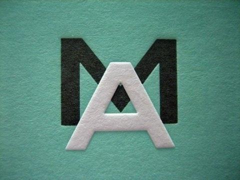 FFFFOUND! #green #modern #letters #typography
