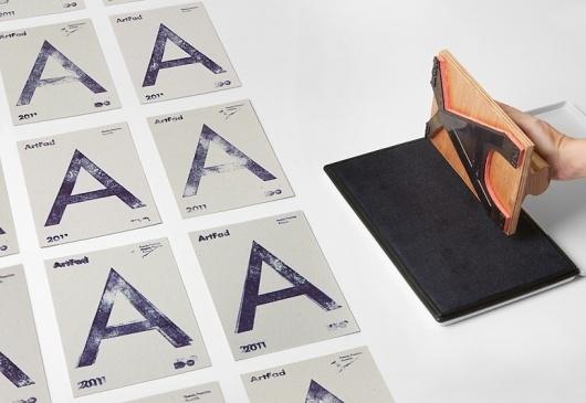 Artfad flyer / Hey | Design Graphique #stamp #flyer