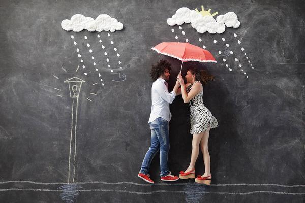 Celeste Luciano | 01 marzo #wedding #rain #couple