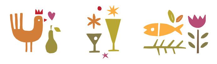 Vivo Kitchen | Cue | A Brand Design Company #icon #picto #symbol #pictogram