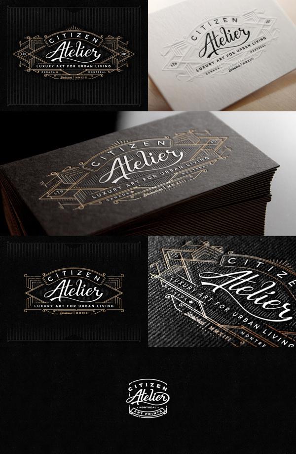 Atelier #businesscards