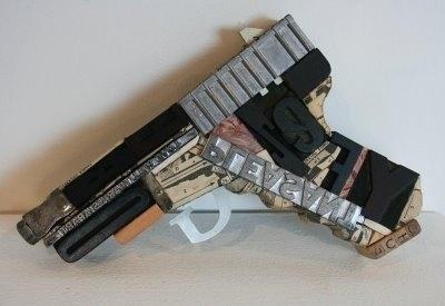for the love of type: Type Gun & the B B Bird #linotype #gun #typography