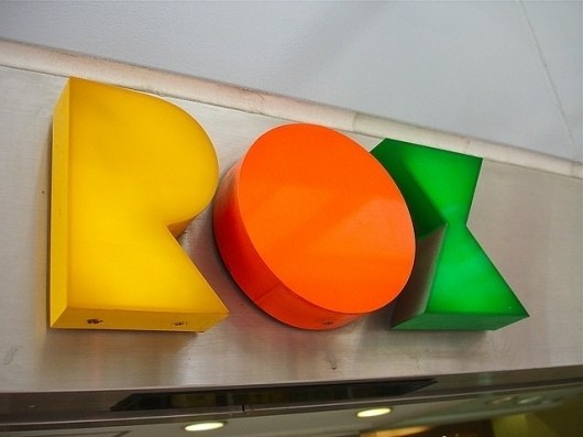 Your favorite photos and videos | Flickr #signage #rox #typography