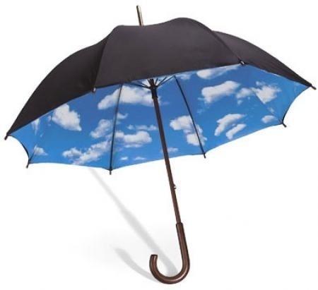 Tibor Kalman | Sky Umbrella #umbrella #mandco #kalman #product #tibor