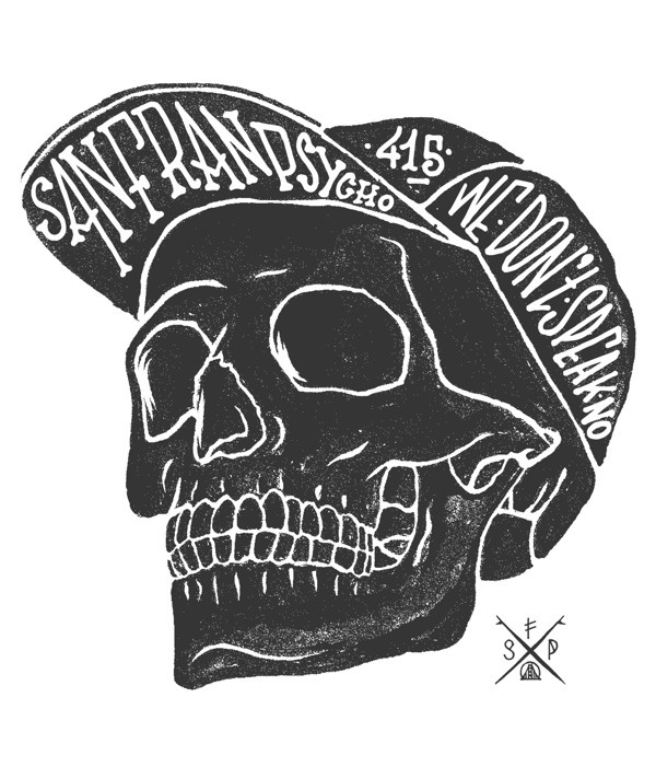 Visualgraphc: Photo #psyco #illustration #sf #skull