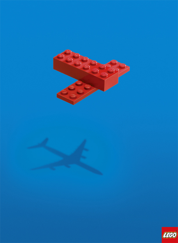 Lego: Plane | Ads of the World #advertising