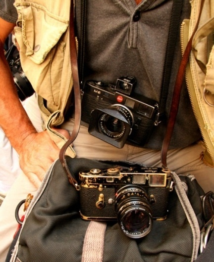 Classy Nbrhd, Imagine if the Leica's were replaced with DSLRs..... #leica #photography