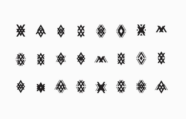 Visual Graphic | Manuel Ventura Architects Branding #forms #geometry