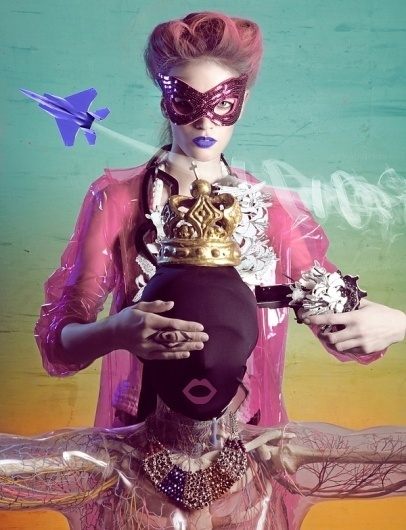Cabinet of curiosities on Fashion Served #direction #illustration #photography #art #fashion #colour