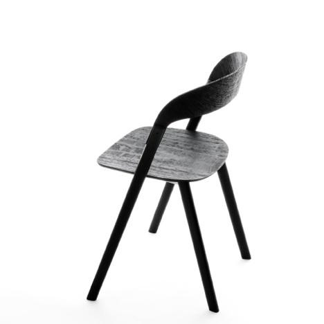 Dezeen » Blog Archive » Baguette chair by Ronan & Erwan Bouroullec for Magis #creative #design #milano #wood #furniture #aluminium #magis