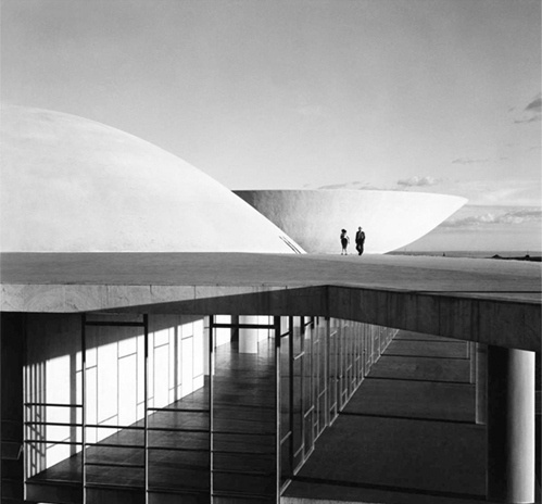 Building Brasilia  this isn't happiness.™ #oscar #brazil #architecture #niemeyer