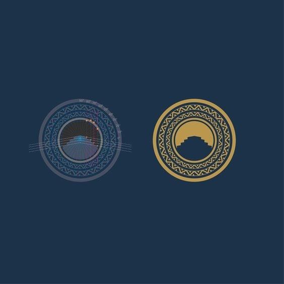 Aztec logo. Designer José F Machado #branding #construction #geometric #graphicdesign #art #asteca #brand #aztec