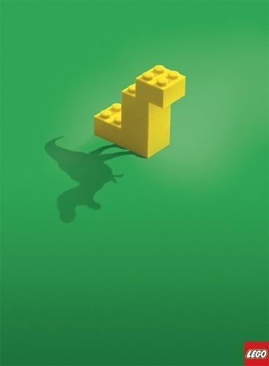CREATIVE ADS: Lego - The Shadow Knows (4 total) - My Modern Metropolis #brunner #lego #poster #blattner