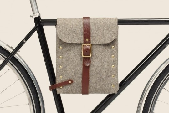 Felt Bike Bag | The Design Ark #bag #felt #bike