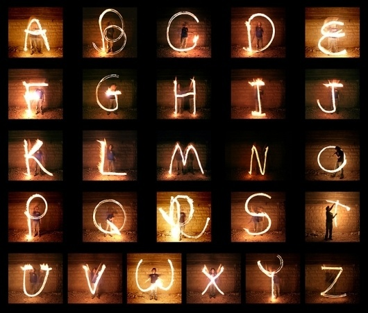 Fire-Poi Typography | Nir Tober — Graphic Design - Graphic Design #fire #typography
