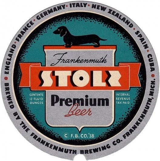 Stoli Premium Beer | Flickr - Photo Sharing! #beer #vintage #coaster