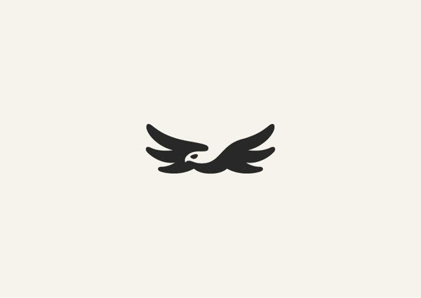 Negative space animal masterpieces on Behance #icon #animals