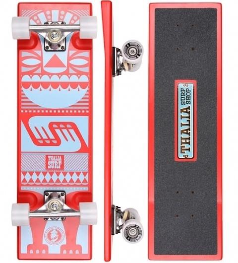 Thalia Surf Shop + Gremmie + Andrew Holder | We Love Creativity #deck #skateboard #skate