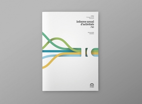 2010 Clabsa Anual Report | Atipus #layout #annual report #barcelona
