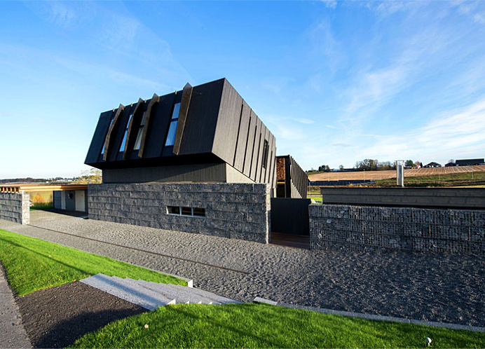 ZEB Pilot House with Integrated Sustainable Solutions - #architecture, #house, #home, home, architecture