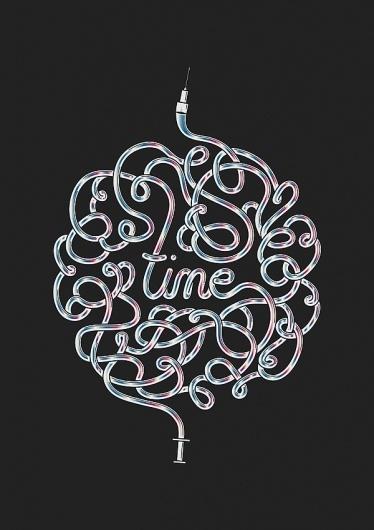 Time is a great healer #destill #poster