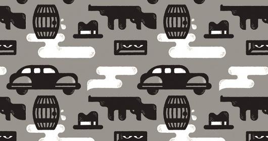 Eric R. Mortensen #pattern #gangster #crime