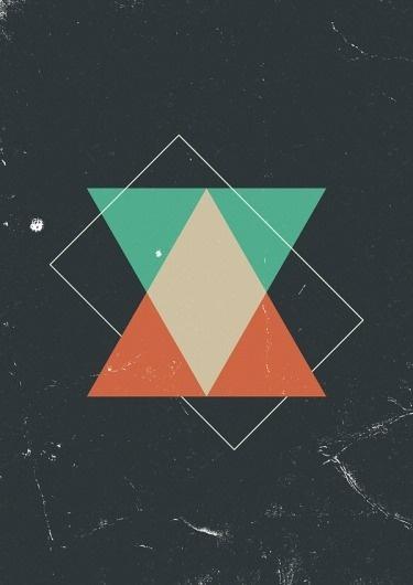 Marius Roosendaal's Portfolio #geometric #triangles