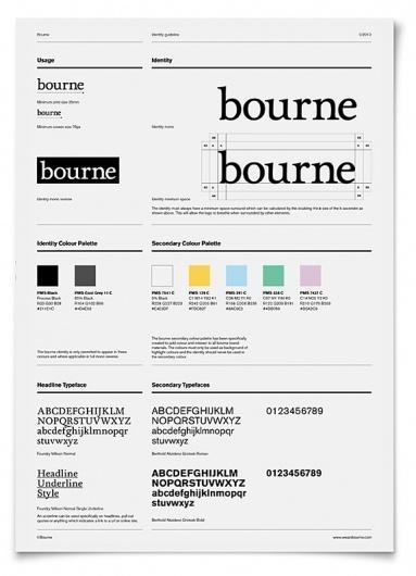 Onestep Creative - The Blog of Josh McDonald #bourne #identity #branding #typography