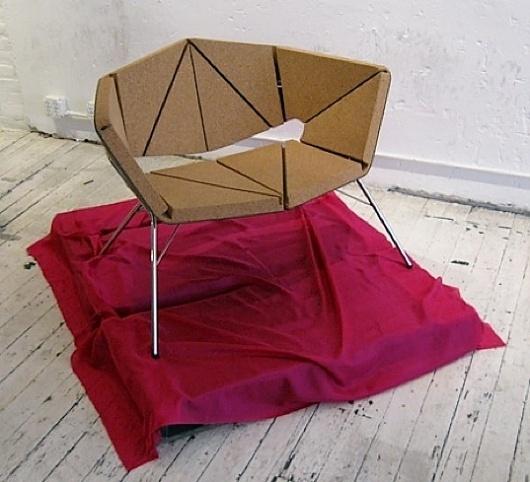 Corque - Vinco by Corque Design #chair #design #cork