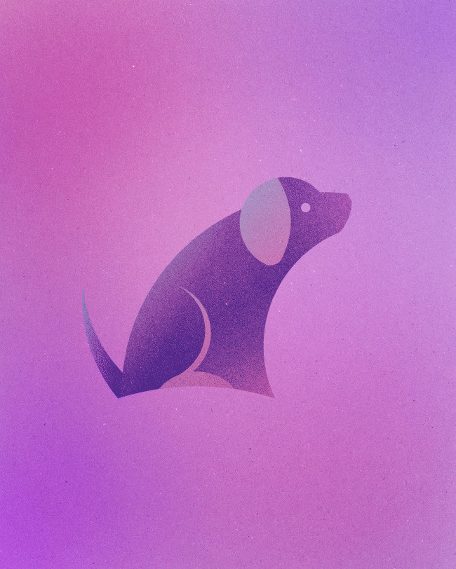 Animals Made From 13 Circles