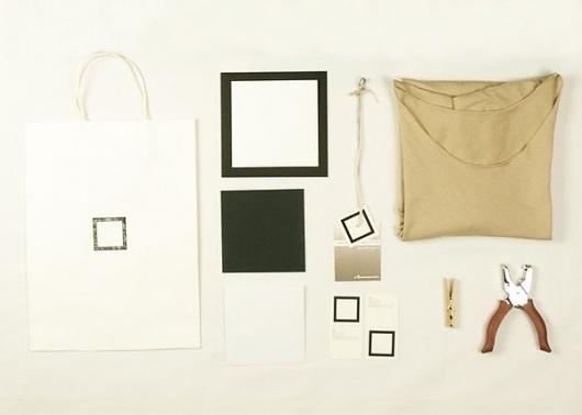 Square Clothing on the Behance Network #clothing #branding #attewell #david #garmet