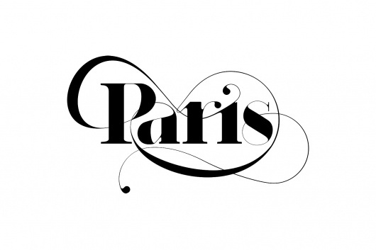 Paris Typeface - New Typeface by Moshik Nadav Typography #paris #typeface #typography