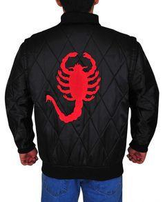 Ryan Gosling Scorpion Drive Logo Jacket