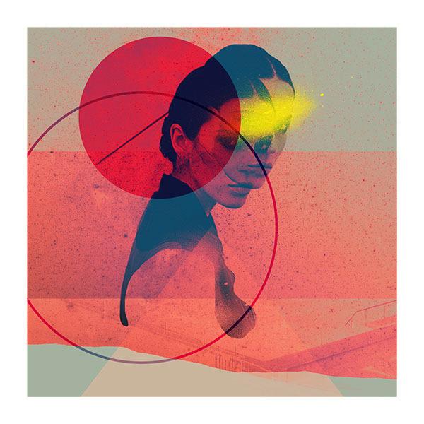 D O P P E L - Rosco Flevo #roscoflevo #album #model #artscumantics #shapes #cover #syrus #colors #postartfuckery #fashion #collage #records #female