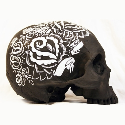 Brian-Morris.jpg (JPEG Image, 500×500 pixels) #illustration #design #art #skull