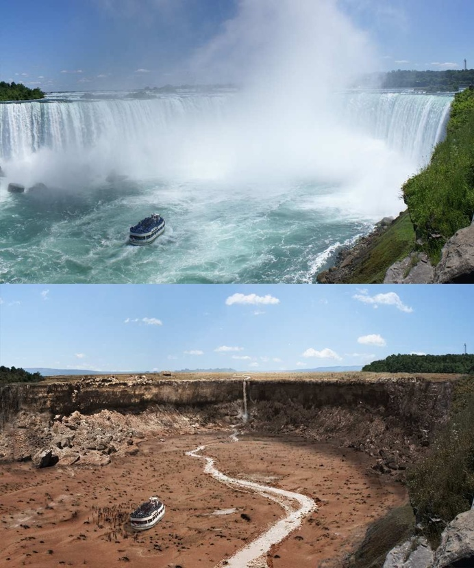 Effects of Drought on The 10 Most Famous Landmarks Around the World