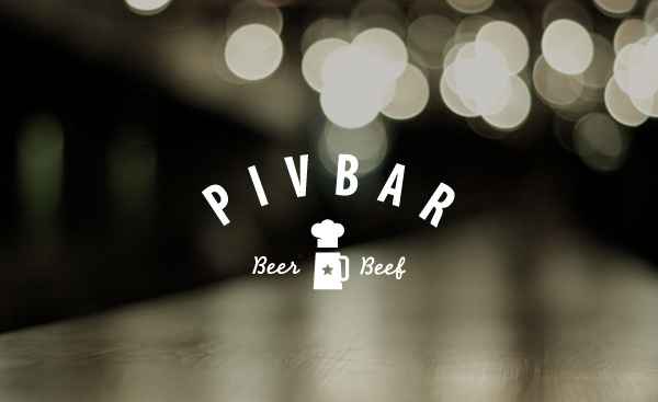 PIVBAR #branding #pab #bar #logo #light